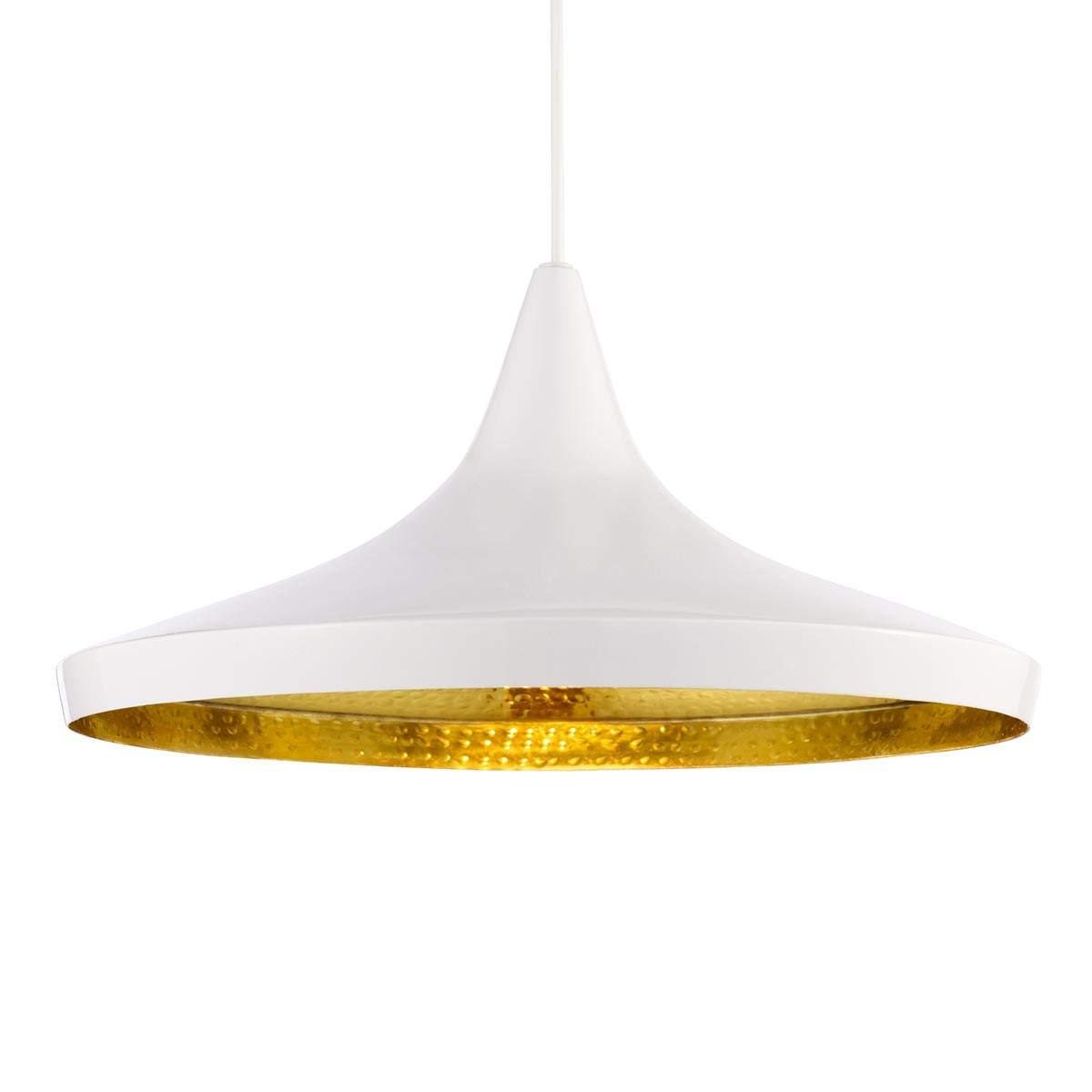 Dove acquistare Beat Wide – lampada sosp bianca ampio paralume