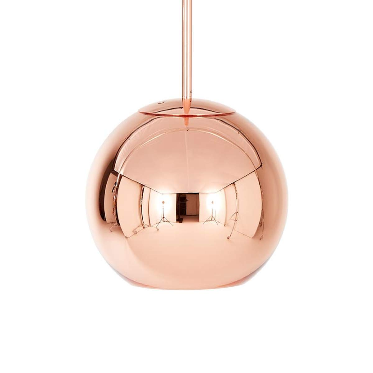Copper Round – lampada sosp forma sferica 25 cm Offerte e sconti