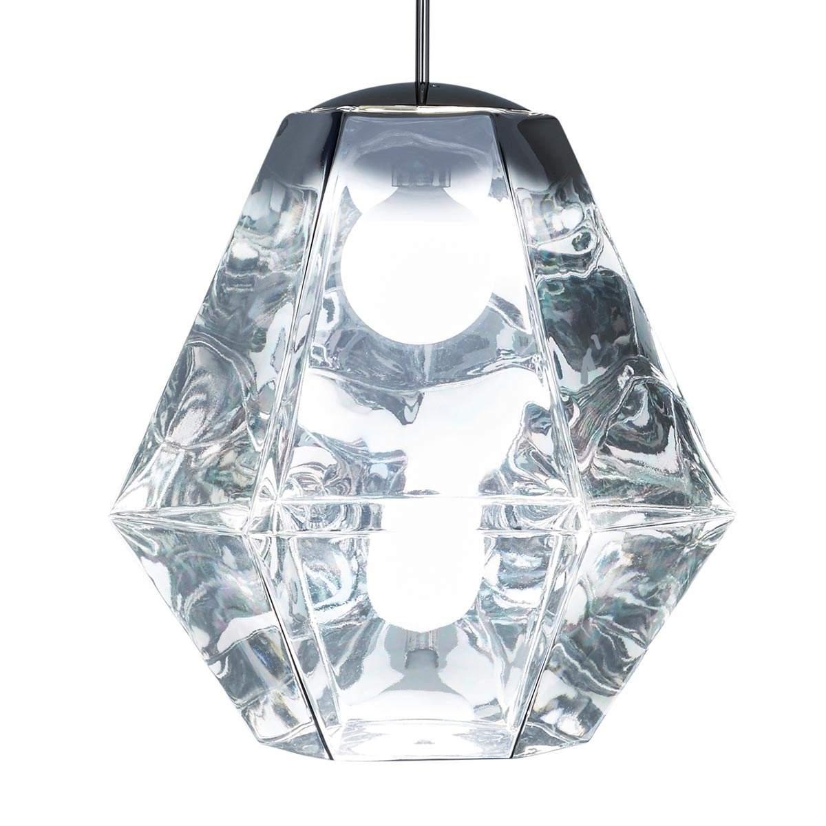 Cut Tall – lampada sosp efficiente finitura cromo Illuminazione per interni