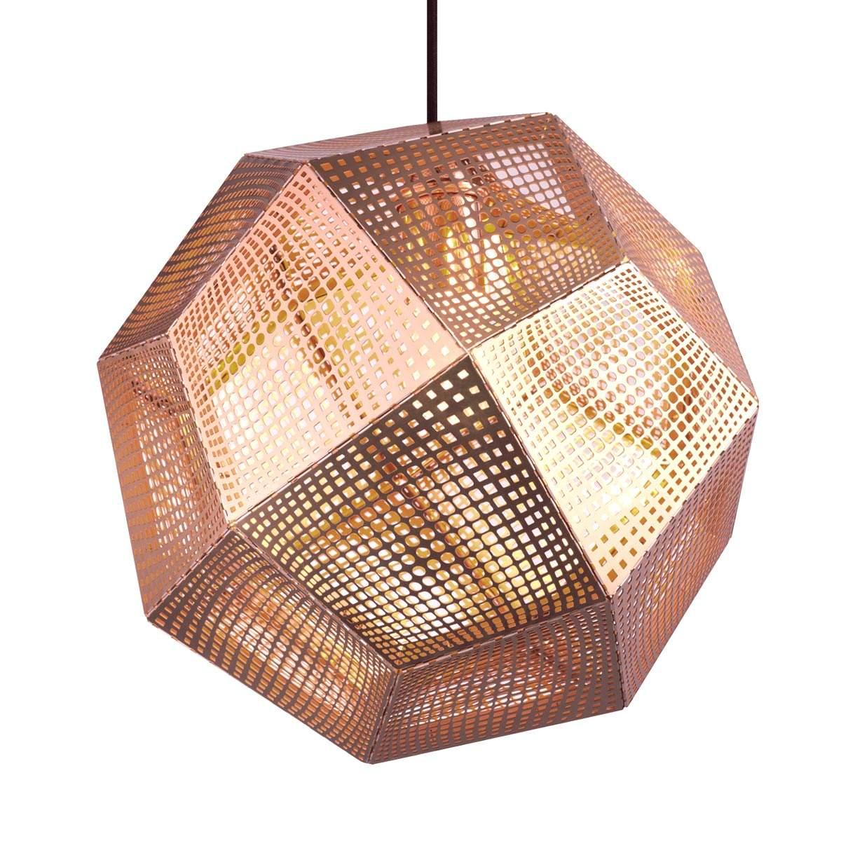 Dove acquistare Lampada sospensione Etch forma geometrica, rame