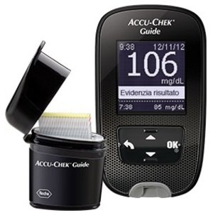 ACCU CHEK GUIDE KIT MG/DL STRUM - 1