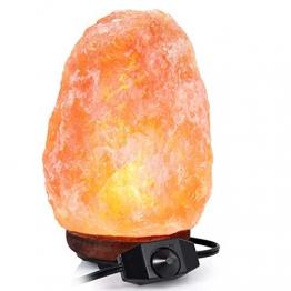 Adoric Lampada di Sale dell'Himalaya 2-3 kg, Cristallo rosa naturale - 1