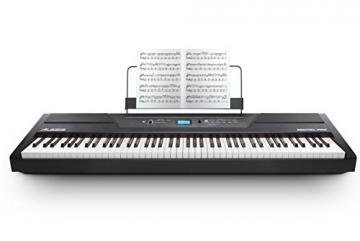 Alesis Recital PRO Pianoforte Digitale, Tastiera con 88 Tasti Hammer Action, Altoparlanti Integrati da 20 W - 2