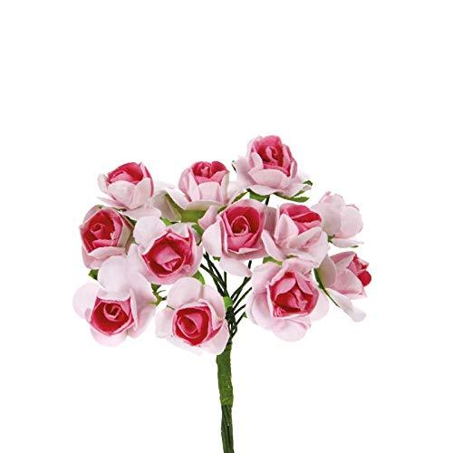 Alice's decorations Bomboniere Fai da Te Rose in Carta Confezione da 144 pz - 1