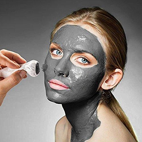 Aliver, maschera d'oro magnetica per il viso, detergente e purificante, anti acne e punti neri, 50 ml - 1