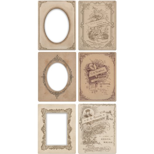 "Armadietto Mini idea-Ology carte telai 3,25"" X4.25"" 6/Pkg- - 1"