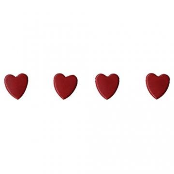 Artemio 100-Piece Mini Brads Fiori, Rosso - 1