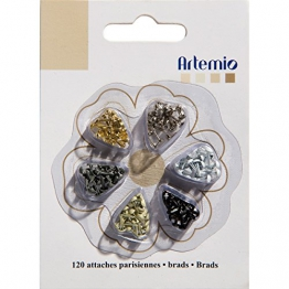 """Artemio. 12"""" Mini Brad 120/Pkg-Classic - 1"""