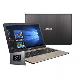 "Asus VivoBook Notebook, Display 15.6 "" HD LED, Amd Dual Core 64 bit fino a 2.60Ghz 4GB RAM ddr4, Ssd 240GB,pc portatile Windows 10 Professional - 1"
