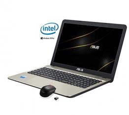 "Asus VivoBook Notebook, Display 15.6 "" HD LED, Intel Dual Core 64 bit fino a 2.4Ghz 4GB RAM, Hdd 500GB, Windows 10 PRO [layout italiano] 3 porte usb Hdmi Dvd cd r wifi bt pronto all'uso - 1"