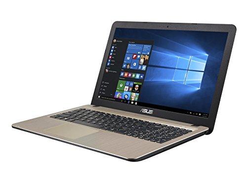 """Asus X540NA-GQ017T Notebook, Display da 15.6"""", Processore Celeron N3350, 1.1 GHz, HDD da 500 GB, 4 GB di RAM, Chocolate Black [Layout Italiano] - 1"""