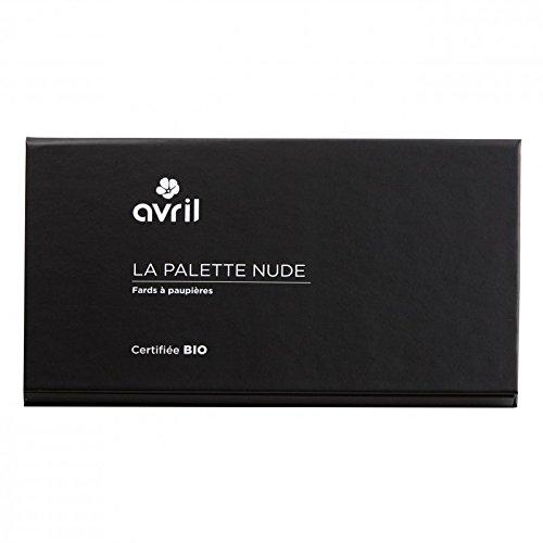 AVRIL - Palette Ombretti Biologici Nude - 6 Tonalità Shimmer e Matt Per un Nude Look Impeccabile - Non Testato sugli Animali - Prodotto in Italia - 1