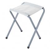 BAKAJI Tavolo Tavolino da Campeggio 120 x 60 cm Regolabile in Altezza Pieghevole Formato Valigia Facile da trasportare, Ideale per Picnic Giardino Spiaggia con 4 Sgabelli Pieghevoli Alluminio - 1