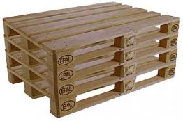 Bancali epal pedane pedana pallet bancale usate seminuove 80x120 H 15 cm in legno - 1