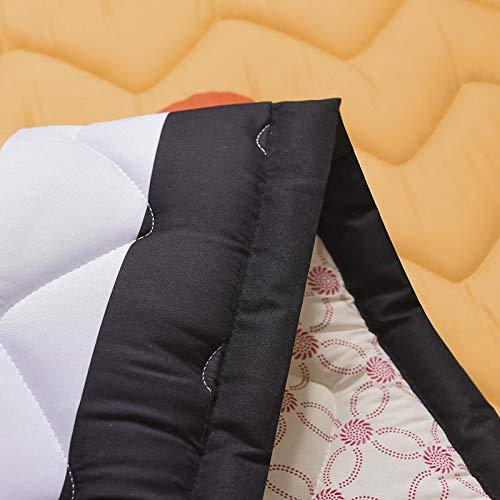 Baobe Stuoia del Gioco del Bambino del Cotone, Tappeto Bambini non molle Eccellente Antisdrucciolevole del Gioco di Grandi Dimensioni 145cm * 195cm * 2.5cm Animali (arancia) - 1