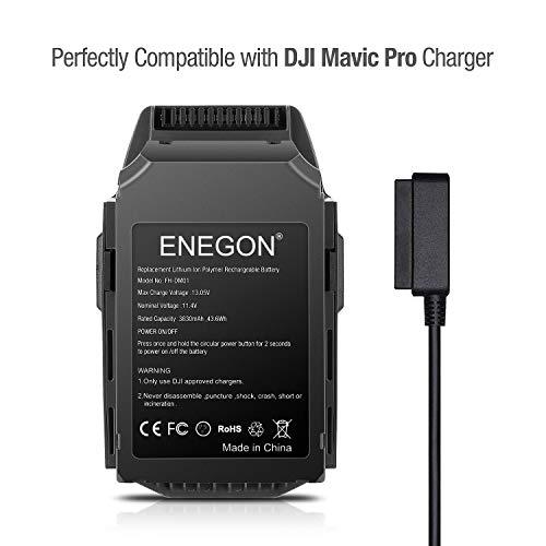 Batteria Mavic Pro, ENEGON 11,4V 3830mAh Batteria di Ricambio Intelligente per Volo LiPo + Borsa per DJI Mavic Pro & Platinum & Alpine Bianco Drones (Non adatto per Mavic 2) - 1