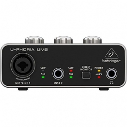 Behringer U-PHORIA UM2  2 x 2 interfacce audio USB 2.0 - 1