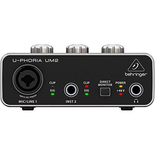 Behringer U-PHORIA UM2  2x 2interfacce audio USB 2.0 - 1