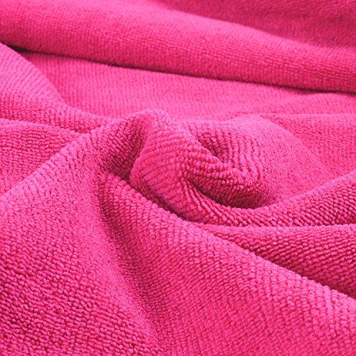 Belmalia asciugamano in microfibra XXL, molto assorbente, 180x 75cm, telo mare, asciugamano per sauna - 1