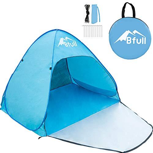 Bfull Tenda da Mare per 1/2 Persone con Protezione Raggi UV, Tenda da Spiaggia - 1