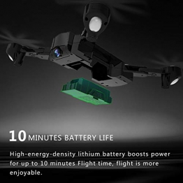 BlackPJenny SG900-S 2.4G RC Drone Pieghevole Selfie Smart GPS FPV Quadcopter con 720P HD Camera Altitude Hold Seguimi One Key Return - 1