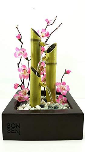 Bonseki® Fontana Zen da interno linea Square. Personalizzabile, Made in Italy. - 1