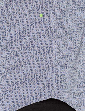 BOSS Athleisure Burris_s, Camicia Uomo, Blu (Open Blue 983), Large - 5
