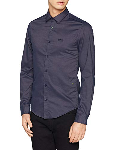 BOSS Brod_S Camicia Uomo, Blu (Open Blue 480) X-Large - 1