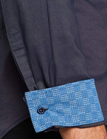 BOSS Brod_S Camicia Uomo, Blu (Open Blue 480) X-Large - 5