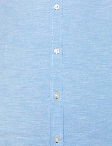 BOSS Casual Eeasy_2, Camicia Uomo, Blu (Open Blue 460), Small - 5
