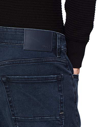 BOSS Casual Maine BC-l-c, Jeans Straight Uomo, Blu (Dark Blue 406), W36/L34 (Taglia Produttore: 36 34) - 1