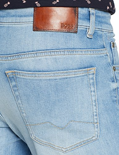 BOSS Casual Orange63 Helsinki-c, Jeans Slim Uomo, Blu (Light/Pastel Blue 450), W32/L32 - 1