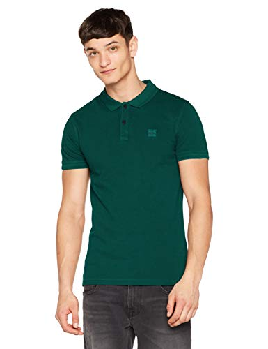 BOSS Casual Prime, Polo Uomo, Verde (Dark Green 307), XX-Large - 1