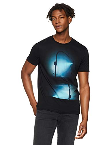 BOSS Casual Tnight, T-Shirt Uomo, Nero (Black 001), Small - 1