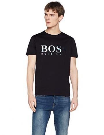 BOSS Casual Tyger, T-Shirt Uomo, Nero (Black 001), Large - 1