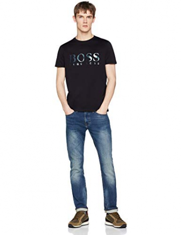 BOSS Casual Tyger, T-Shirt Uomo, Nero (Black 001), Large - 3