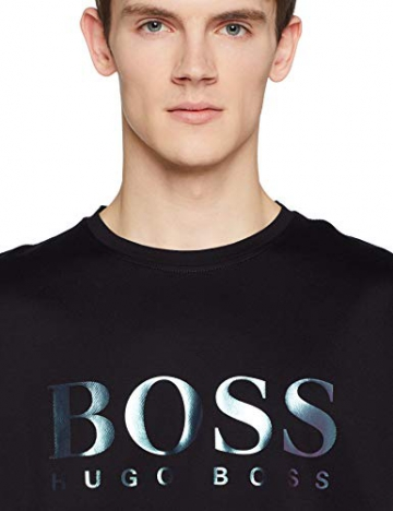 BOSS Casual Tyger, T-Shirt Uomo, Nero (Black 001), Large - 4