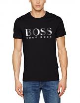 BOSS Hugo Boss T-Shirt RN, T-shirt Uomo, Nero (Black), X-Large - 1