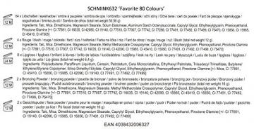 BriConti, Palette trucchi, Favorite 80 Colours - 2