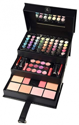 BriConti, Valigetta trucchi, Beauty Case, colore: Nero - 1