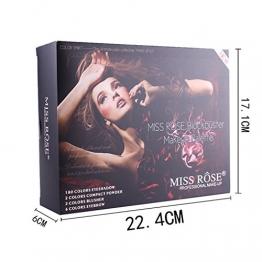 BrilliantDay set palette 180 colori per makeup cosmetici professionali, includ ombretti lucidalabbra fard cipria fondotinta evidenziare polvere - 1
