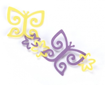 Butterfly & Flower Slim Garland Punch EK Success E5491007 - 2