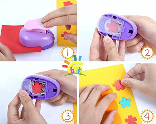 CADY craft punch 2.5 cm punzon punzone di carta paper punch DIY punzoni New butterfly - 1