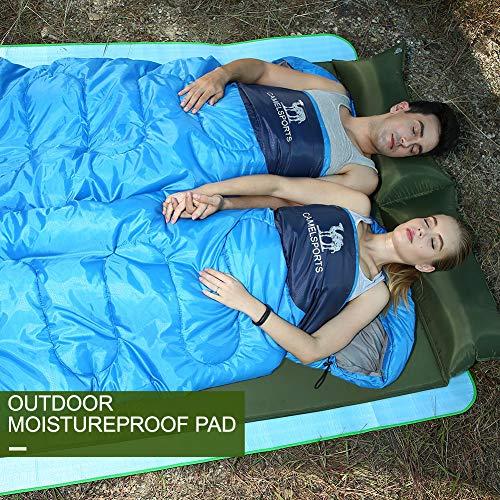 CAMEL CROWN Doppio materassini da Campeggio autogonfiabili Materassino da Campeggio Ultraleggero Doppio Letto Camping Sport e Tempo Libero Escursionismo - 1