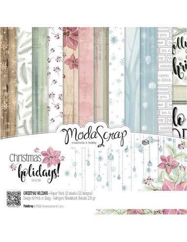 """Carte Moda Scrap 12""""x12"""" – Christmas Holidays - 1"""