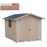 Casetta in legno 290x200 Nebraska verniciata