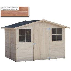 Casetta in legno 295x194 Florida verniciata