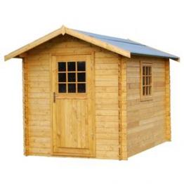 Casetta in legno blockhaus 202x194 Pisa verniciata