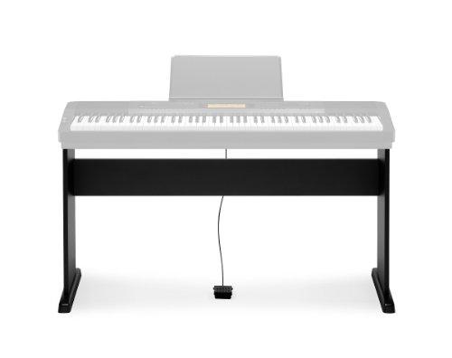 Casio CS-44P Stand opzionale componibile per Tastiera CASIO CDP 120-130-220-230, Nero - 1