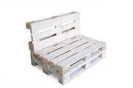 clc ARREDO Divanetto Pallet richiudibile Made in Italy - Colore Bianco - 1